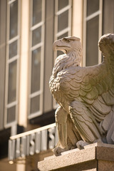 The Penn Station  Eagle by Madison Square Garden