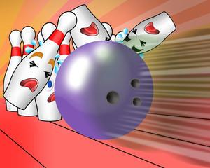 turkey by bowling ball