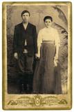 Antik családi fotó