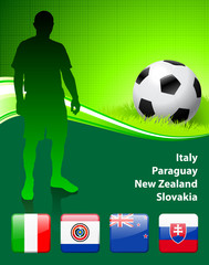 World Soccer Football Group F