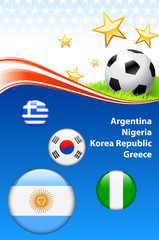 World Soccer Football Group B