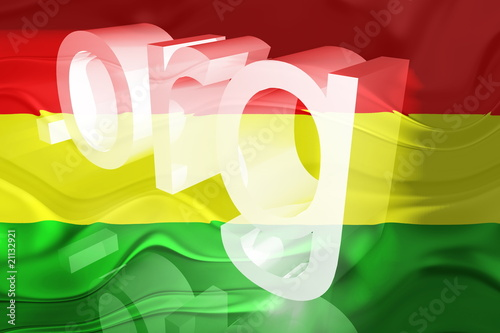 Flag of Bolivia wavy website
