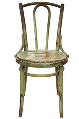 old french restaurant chair