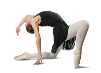female ballerina  performing a dance