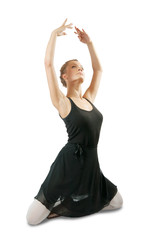 ballerina  performing a dance