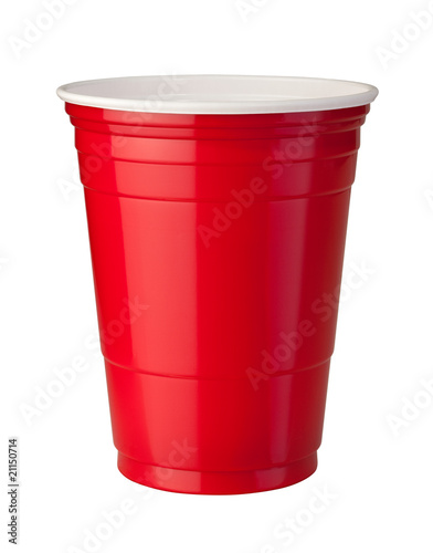 Red Plastic Cup - 21150714