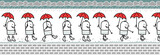 walking character & umbrella for animated sprite