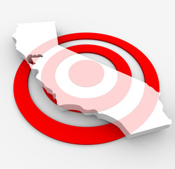 Target California - Marketing Concept