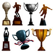 Sport Trophies - more sport illustrations in my portfolio.