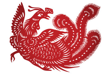 Vector of Traditional Chinese Paper-cut