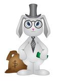 Rabbit-banker poster