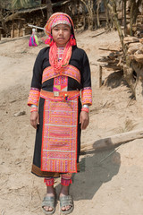 Akha Frau in Laos