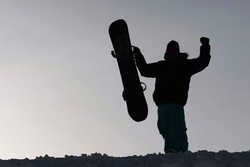 extrem snowboarding