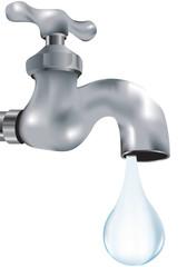 rubinetto che perde una goccia