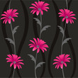 decorative floral pattern, background