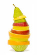pera de frutas mezcladas