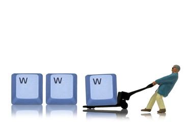 www wird transportiert
