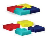Three-Dimensional Puzzle Blocks