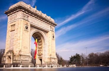 Triumph Arch in Bucharest Romania