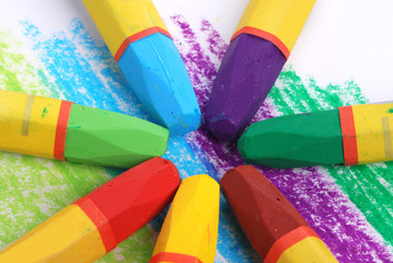 Color Wheel by crayons