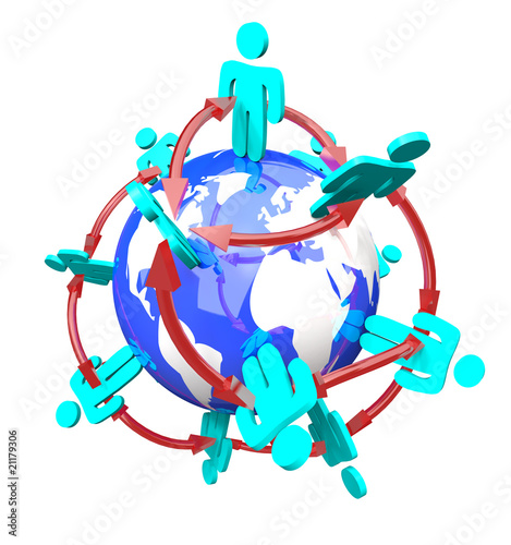 Global Network of Connected People