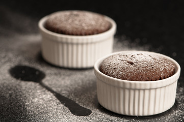 Chocolate Souffles