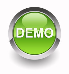 ''Demo'' glossy icon