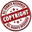 Copyright stamp