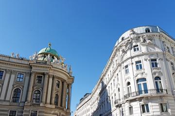 Wien / Vienna / Teil der Hofburg und klassisches Gebäude