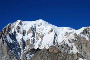Alpi: vetta del Monte Bianco