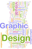 Graphic design background concept poster