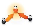 relation de travail / reseau social