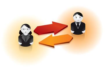 reseaux sociaux / communication au travail