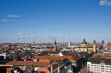 münchen-nord mit fersehturm