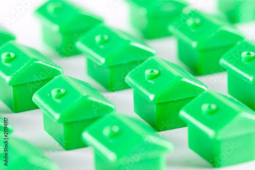 Grüne Häuser