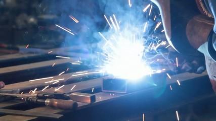 Metallbearbeitung: Schweissen