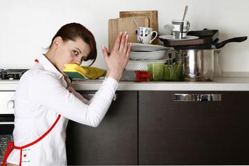 ancora piatti da lavare