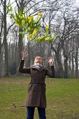 Tulpen fallen vom Himmel