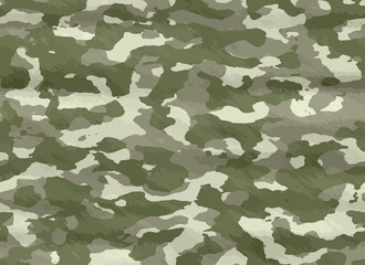 illustration of disruptive  camouflage material