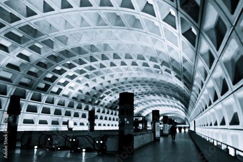 Leinwandbild Motiv DCの地下鉄