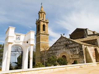 Church of Santa Maria Maggiore in Estepa, Andalucia