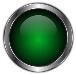 icones boutons vert