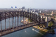 Aerial view of Sydney Harbour Bridge