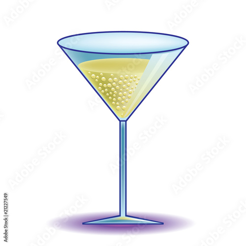 cocktail drink in glass