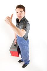 worker thumbsup