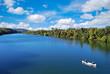 Kayaking in town lake in austin texas usa - 21237107