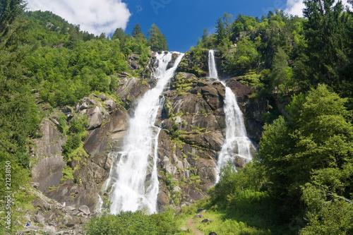 Fototapeten,wasserfall,wasser,alps,berg