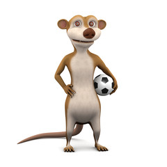 Footballer 3d