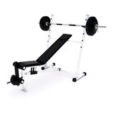 Fitness Home Gym for regular sports training poster