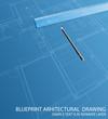 dark blueprint ruler
